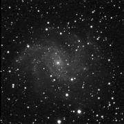 Az NGC 6946 galaxis a Cygnus csillagképben. 50 cm RC f:6,3 + FLI CM-9 CCD.Exp:6x60 sec. Foto: Horváth Tibor (Hegyhat Observatory, Hegyhátsál)