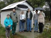 Debreceni amatőrcsillagászok látogatták meg a Scutum csillagvizsgálót.2003.Aug.31.