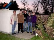 Amatőrcsillagászok az ausztriai Feldbachból. 2005.10.22.