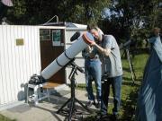 Csarnai Zoltán (Zalaegerszeg).2004.junius8. Vénusz átvonulás megfigyelése a Scutum csillagvizsgálóból.